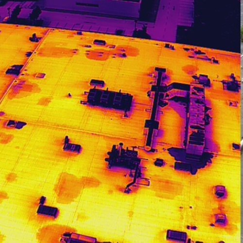 cooneys - heat map generated for roof investigation